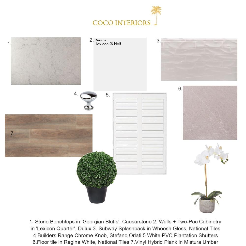 Coco Interiors - Merrima Moodboard