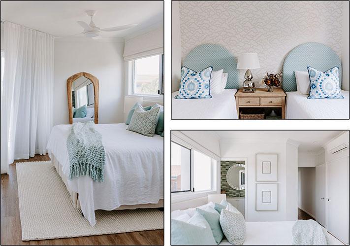 Coco Interiors - Coastal Luxury Minchinton Bedrooms